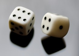 Six sided dice