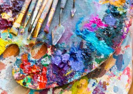 Brushes and Pigments