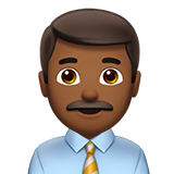 Man Office Worker emoji